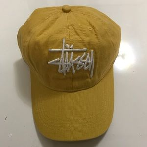 NEW Yellow Stussy Baseball Cap